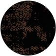 rug #1069330 | round black damask rug