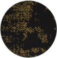 rug #1069334 | round mid-brown graphic rug