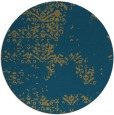 rug #1069344 | round faded rug