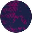 rug #1069350 | round pink damask rug