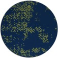 rug #1069358 | round green graphic rug