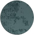 rug #1069390 | round blue-green traditional rug