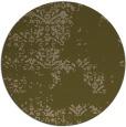 rug #1069430 | round brown damask rug