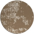 rug #1069470 | round beige damask rug