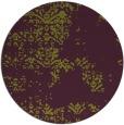 rug #1069554 | round purple damask rug