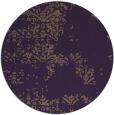 rug #1069558 | round purple traditional rug