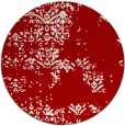 rug #1069566 | round red traditional rug