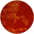 rug #1069570 | round red traditional rug