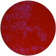 rug #1069578 | round red traditional rug