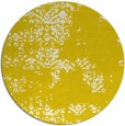 rug #1069638 | round yellow traditional rug