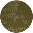 rug #1069662 | round light-green graphic rug