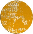 rug #1069666 | round light-orange traditional rug