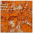 rug #1070050 | square orange graphic rug