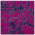 rug #1070086 | square blue graphic rug