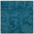 rug #1070122 | square blue-green faded rug