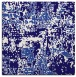 rug #1070154 | square blue-violet rug