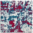 rug #1070170 | square red faded rug