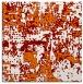 rug #1070258   square orange graphic rug