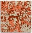 rug #1070262 | square orange graphic rug