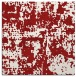 rug #1070310 | square red faded rug
