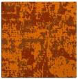 rug #1070318 | square red-orange faded rug