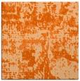 rug #1070322 | square red-orange faded rug