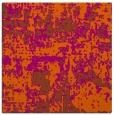 rug #1070326 | square red-orange faded rug
