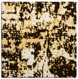 rug #1070350 | square brown graphic rug