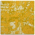 rug #1070366 | square yellow faded rug