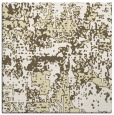 rug #1070370 | square yellow faded rug