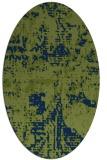 rug #1070462   oval blue rug