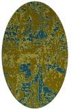 rug #1070498 | oval faded rug