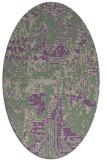 rug #1070605 | oval graphic rug