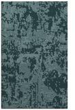 rug #1070862 |  blue-green faded rug