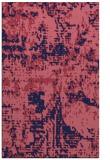 rug #1070882    pink faded rug