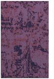 rug #1070886 |  blue-violet faded rug