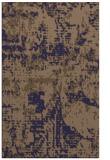 rug #1070894 |  blue-violet faded rug