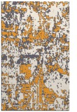 rug #1071150 |  light-orange graphic rug
