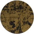 rug #1071174 | round mid-brown graphic rug