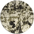 rug #1071178 | round graphic rug