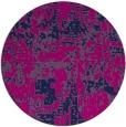 rug #1071190   round pink graphic rug