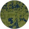 rug #1071198 | round blue graphic rug
