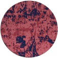 rug #1071250 | round faded rug