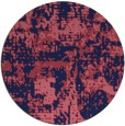 rug #1071251 | round faded rug