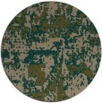 rug #1071270 | round brown faded rug