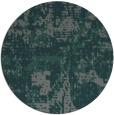 rug #1071286 | round green graphic rug
