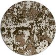 rug #1071310 | round beige graphic rug