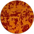 rug #1071358 | round faded rug