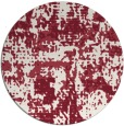 rug #1071378   round faded rug