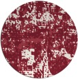 rug #1071379 | round faded rug